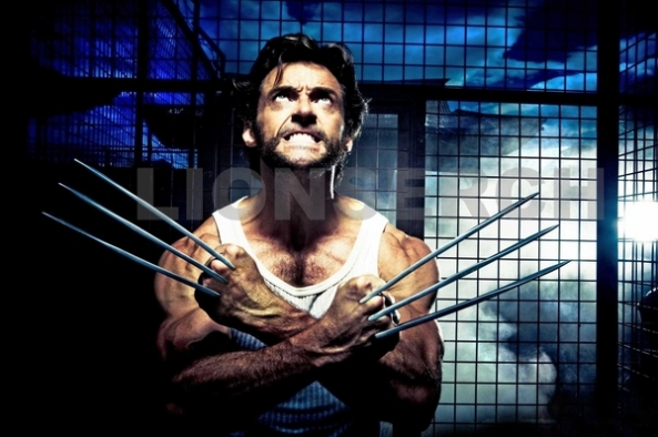 Wolverine's (Hugh Jackman) berserker rage unleashes his adamantium claws.